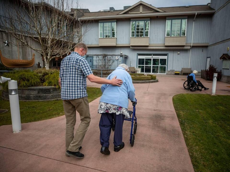 Long-term and assisted living staff who refuse to vaccinate must take a leave of absence without pay as of Oct. 12. (Ben Nelms/CBC - image credit)