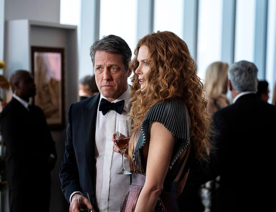 "Hugh Grant and Nicole Kidman in ""The Undoing."" (Photo: HBO)"