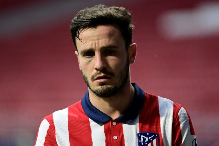 Chelsea say new signing Saul Niguez who has joined from Atletico Madrid is a 'proven winner' (AFP/JAVIER SORIANO)