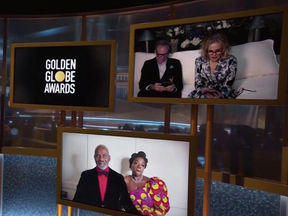 Catherine O'Hara Golden Globes NBC Golden Globes 2021 NBC