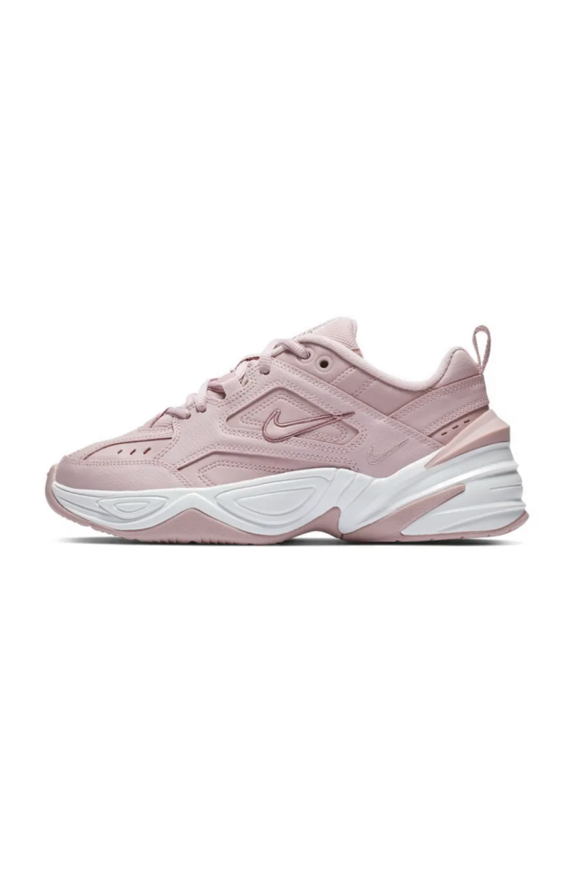 "<p><strong>Nike</strong></p><p>nike.com</p><p><strong>$65.97</strong></p><p><a rel=""nofollow"" href=""https://www.nike.com/t/m2k-tekno-womens-shoe-MNL6C0"">SHOP IT</a></p><p>The ""dad"" sneaker gets a feminine makeover with this plum-colored Nike option. It features a combination of upper and lightweight foam cushioning for stretch, support, and comfort. Pair with your favorite cream-colored maxi dress. </p>"
