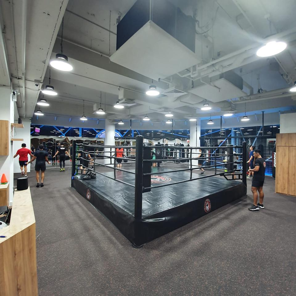 The Downtown East branch of the Spartans Boxing Club, which opened in October 2019. (PHOTO: Spartans Boxing Club)