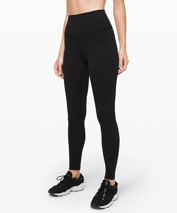 """<p><strong>Lululemon</strong></p><p>lululemon.com</p><p><strong>$98.00</strong></p><p><a href=""""https://go.redirectingat.com?id=74968X1596630&url=https%3A%2F%2Fshop.lululemon.com%2Fp%2Fwomen-pants%2FWunder-Under-HR-78-Tight%2F_%2Fprod8430902&sref=https%3A%2F%2Fwww.goodhousekeeping.com%2Fhealth-products%2Fg4042%2Fbest-workout-leggings%2F"""" rel=""""nofollow noopener"""" target=""""_blank"""" data-ylk=""""slk:Shop Now"""" class=""""link rapid-noclick-resp"""">Shop Now</a></p><p>Our panel loved the soft, comfy feel of this """"<a href=""""https://info.lululemon.com/design/fabrics-technology/luon"""" rel=""""nofollow noopener"""" target=""""_blank"""" data-ylk=""""slk:Full-On Luon"""" class=""""link rapid-noclick-resp"""">Full-On Luon</a>"""" fabric and said it stayed in place like second-skin throughout their workouts. Their rave reviews included it """"allowed for a good range of motion"""" and """"didn't give me wedgies and the band didn't move at all."""" The leggings were also breathable, flattering, and opaque, and they held up during our Lab's durability tests. <strong>This high-waisted style is specifically designed f</strong><strong>or <a href=""""https://www.goodhousekeeping.com/health-products/a25921042/best-yoga-mats/"""" rel=""""nofollow noopener"""" target=""""_blank"""" data-ylk=""""slk:yoga"""" class=""""link rapid-noclick-resp"""">yoga</a>, b</strong><strong>ut it's also a popular choice for training. </strong>We love that they come in lots of <a href=""""https://go.redirectingat.com?id=74968X1596630&url=https%3A%2F%2Fshop.lululemon.com%2Fsearch%3FNtt%3Dwunder%2Bunder%2Bluon&sref=https%3A%2F%2Fwww.goodhousekeeping.com%2Fhealth-products%2Fg4042%2Fbest-workout-leggings%2F"""" rel=""""nofollow noopener"""" target=""""_blank"""" data-ylk=""""slk:variations"""" class=""""link rapid-noclick-resp"""">variations</a>, including multiple lengths, colors, and prints so there's something for everyone.</p>"""