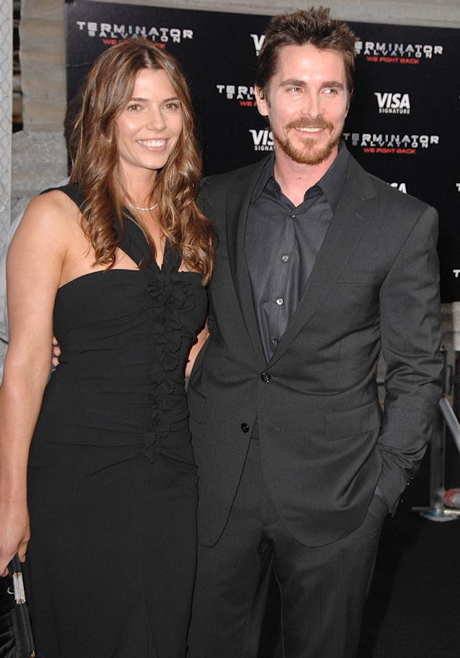 "<a href=""http://movies.yahoo.com/movie/contributor/1800018597"">Christian Bale</a> and wife at the Los Angeles premiere of <a href=""http://movies.yahoo.com/movie/1810025211/info"">Terminator Salvation</a> - 05/14/2009"