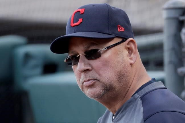 Indians manager Francona undergoing tests, return unknown