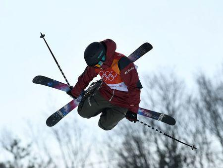 Freestyle Skiing - Pyeongchang 2018 Winter Olympics - Women's Ski Halfpipe Qualifications - Phoenix Snow Park - Pyeongchang, South Korea - February 19, 2018 - Cassie Sharpe of Canada competes. REUTERS/Dylan Martinez