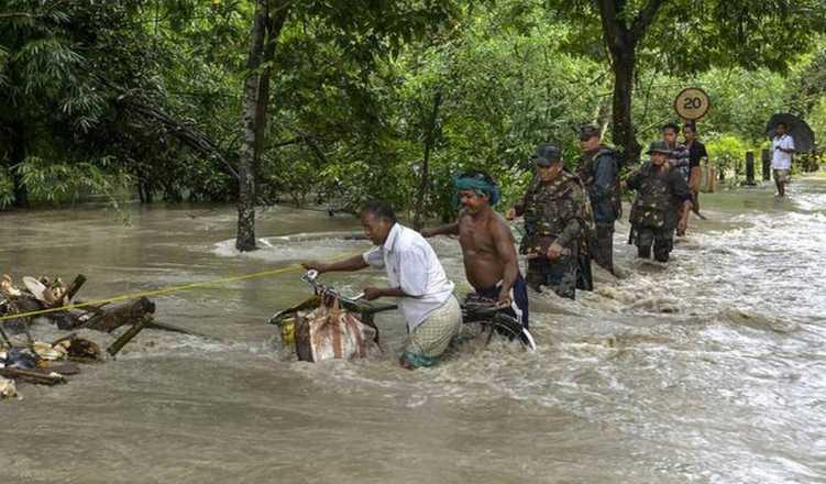 Bihar Govt Asks Centre For Rs 2,700 Cr As Compensation For Flood Damages