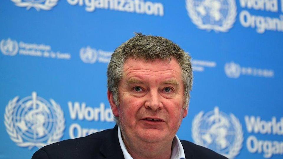 Mike Ryan, Executive Director of the World Health Organization (WHO) Emergencies Programme during a press conference in Geneva, Switzerland, February 11, 2020.