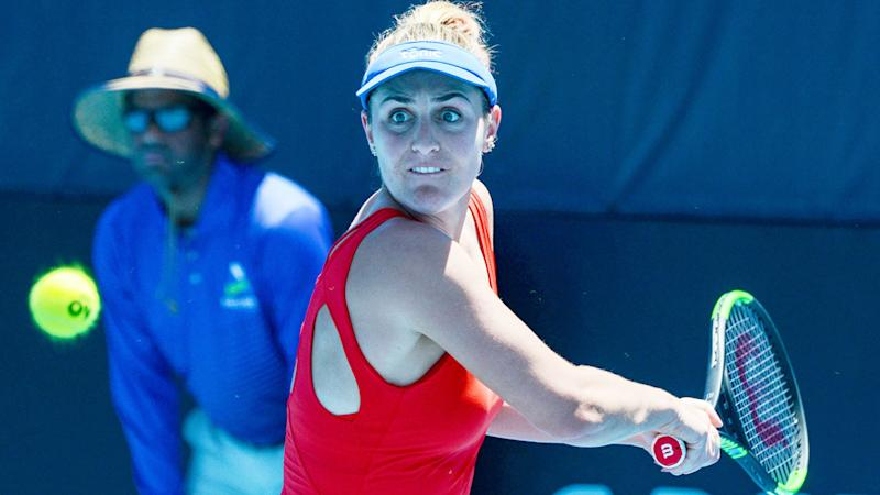 Pictured here, Gabriela Dabrowski is not happy about plans for the US Open.