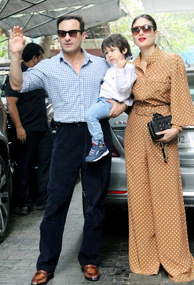 """Saif Ali Khan and Kareena Kapoor's infamous kid has a very unique name. Explaining the meaning in an interview, Saif said, """"Taimur is an ancient Persian name meaning iron. Both my wife and I liked its sound and the meaning. In fact, of all the names I ran by Kareena, she liked this one the best because it's beautiful and strong."""""""