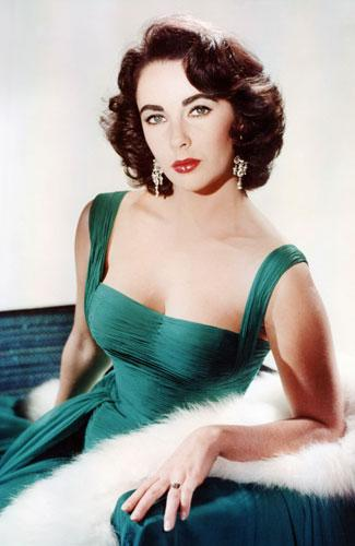 Lindsay Lohan Models Elizabeth Taylor Costumes For 'Liz and Dick' Biopic