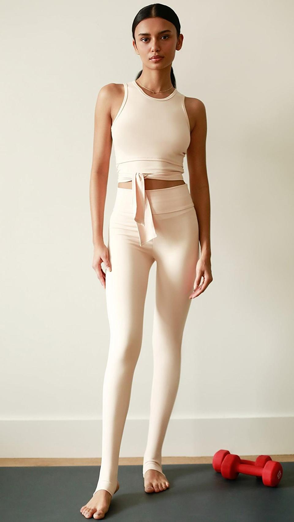 <p>Feel like a graceful dancer in these <span>Live the Process Ballet Leggings</span> ($128) and <span>Top</span> ($118).</p>