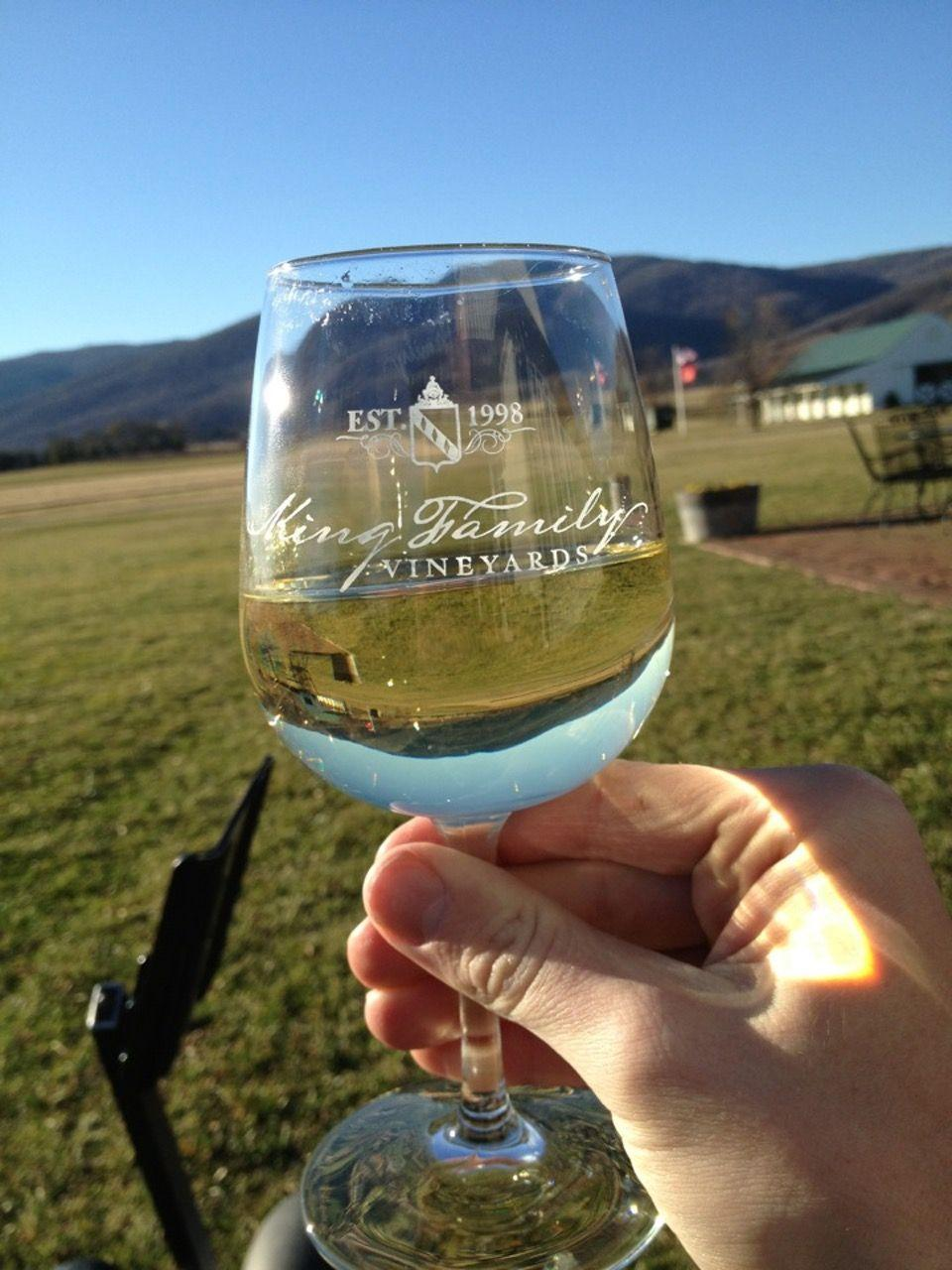 "<p><a href=""https://foursquare.com/kingvineyards"" rel=""nofollow noopener"" target=""_blank"" data-ylk=""slk:King Family Vineyards"" class=""link rapid-noclick-resp"">King Family Vineyards</a> in Crozet</p><p>""Grab a glass of <span class=""entity tip_taste_match"">Merlot</span> and head to the <span class=""entity tip_taste_match"">outdoor patio</span> in the back. Amazing <span class=""entity tip_taste_match"">views</span> of the <span class=""entity tip_taste_match"">greenery</span>, <span class=""entity tip_taste_match"">mountains</span>, and nearby polo field.<span class=""redactor-invisible-space"">"" - Foursquare user <a href=""https://foursquare.com/kyledbye"" rel=""nofollow noopener"" target=""_blank"" data-ylk=""slk:Kyle Bye"" class=""link rapid-noclick-resp"">Kyle Bye</a></span></p>"