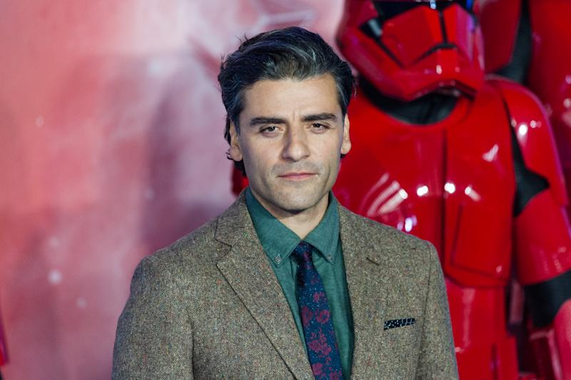 LONDON, UNITED KINGDOM - DECEMBER 18, 2019: Oscar Isaac attends the European film premiere of 'Star Wars: The Rise of Skywalker' at Cineworld Leicester Square on 18 December, 2019 in London, England.- PHOTOGRAPH BY Wiktor Szymanowicz / Barcroft Media (Photo credit should read Wiktor Szymanowicz / Barcroft Media via Getty Images)
