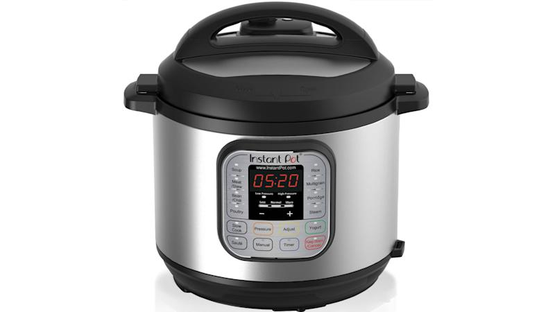 Instant Pot DUO60 6 Qt 7-in-1 Multi-Use Programmable Pressure Cooker. (Photo: Walmart)