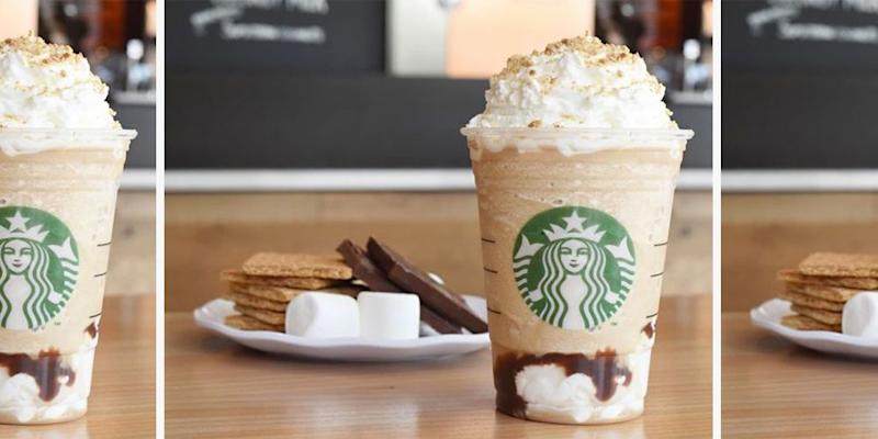 094d44f3a3d Starbucks Is Hardcore Hinting at the Return of the S'mores Frappuccino