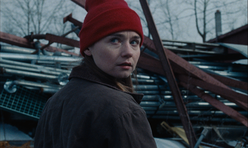 """Jessica Barden plays a teen in a working-class Ohio town weighing plans for the future in the drama """"Holler."""""""