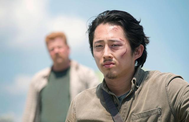Steven Yeun as Glenn Rhee in 'The Walking Dead' (Photo: AMC)