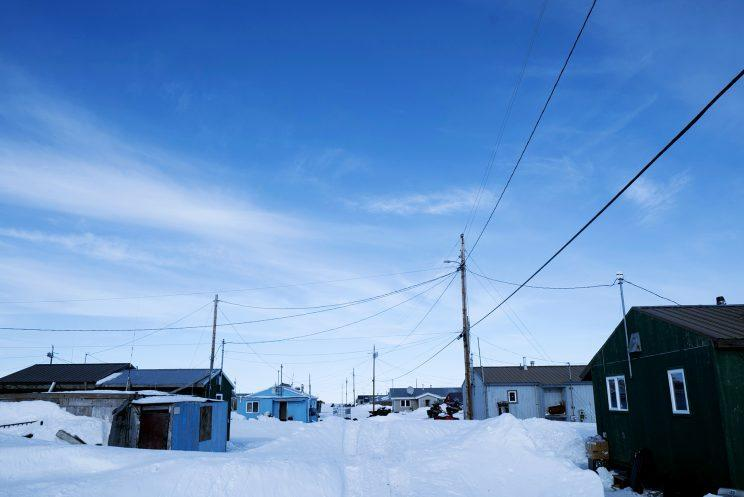 Kivalina is about 70 miles north of the Arctic Circle. (Photo: Hans Glick/Global Citizen)