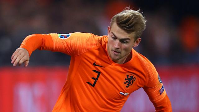 Northern Ireland's goal came thanks to a Matthijs de Ligt error, but Ronald Koeman defended the centre-back ahead of facing Belarus.