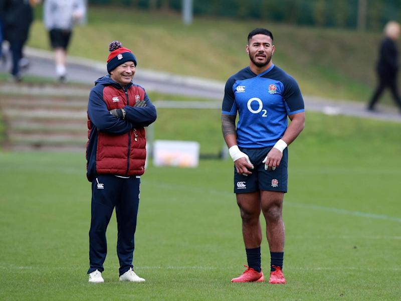Eddie Jones is not the only one relieved to have Manu Tuilagi back: Getty