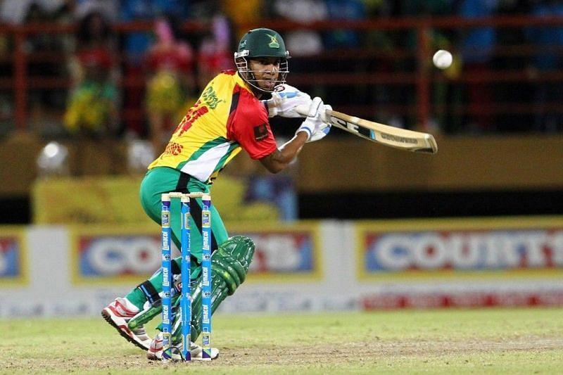 Lendl Simmons has scored 1029 runs in CPL20 while playing for Guyana Amazon Warriors.