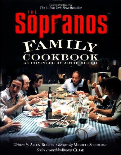 "<div class=""caption-credit""> Photo by: Amazon</div><div class=""caption-title"">Sopranos Family Cookbook</div><p>  <b>The Book:</b> <i>The Sopranos Family Cookbook: As Compiled by Artie Bucco</i> </p> <p>  <b>The Deal:</b> This book was ""compiled"" by Artie, the character who runs the restaurant Vesuvio, which played a big role on the show. <i><br></i> </p> <p>  <b>Recipes Include:</b> Arancini, zabaglione, baccala to Quail Sinatra-style. </p> <p>  <a rel=""nofollow"" target=""_blank"" href=""http://www.amazon.com/The-Sopranos-Family-Cookbook-Compiled/dp/0446530573"">Available for $14.48.</a> </p>"