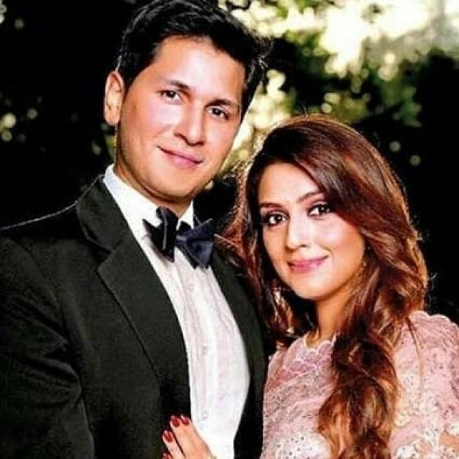 Aarti and her fiancee