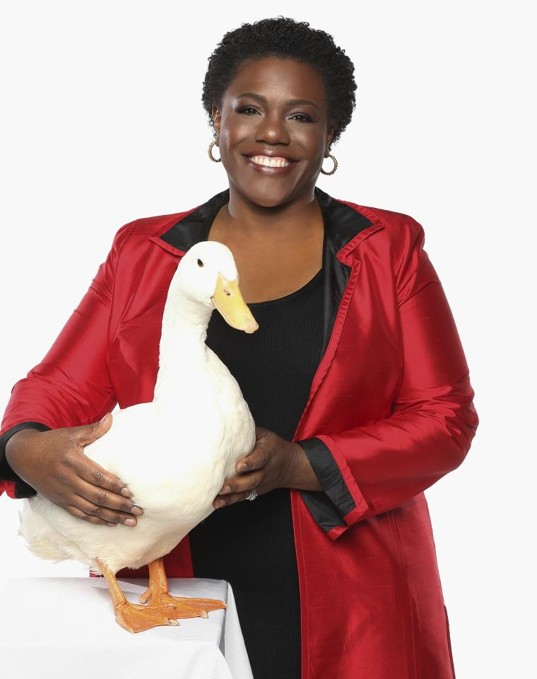 <p> In this Dec. 28, 2015 photo released by Aflac U.S., President of Georgia-based insurance giant Aflac U.S. Teresa White poses for a photo in Georgia. White, the first black president of Georgia-based insurance giant Aflac U.S., is on a quest to help young African-American girls succeed. (Lonnie Major/Aflac U.S., via AP) </p>
