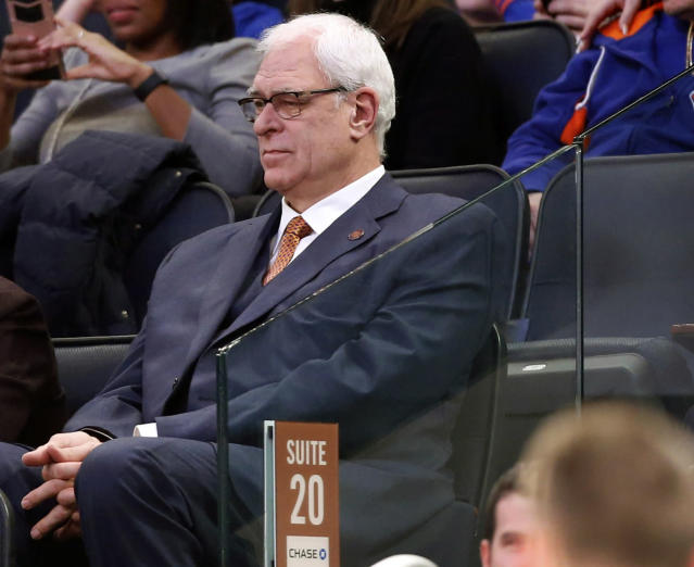 If Phil Jackson is so enamored with the triangle, he needs to coach it himself. (AP)