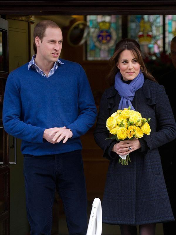 The Duchess was admitted to King Edward VII Hospital in 2012 when she was pregnant with Prince George. Photo: Getty Images