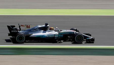 Hamilton hails Mercedes' update package in Spain