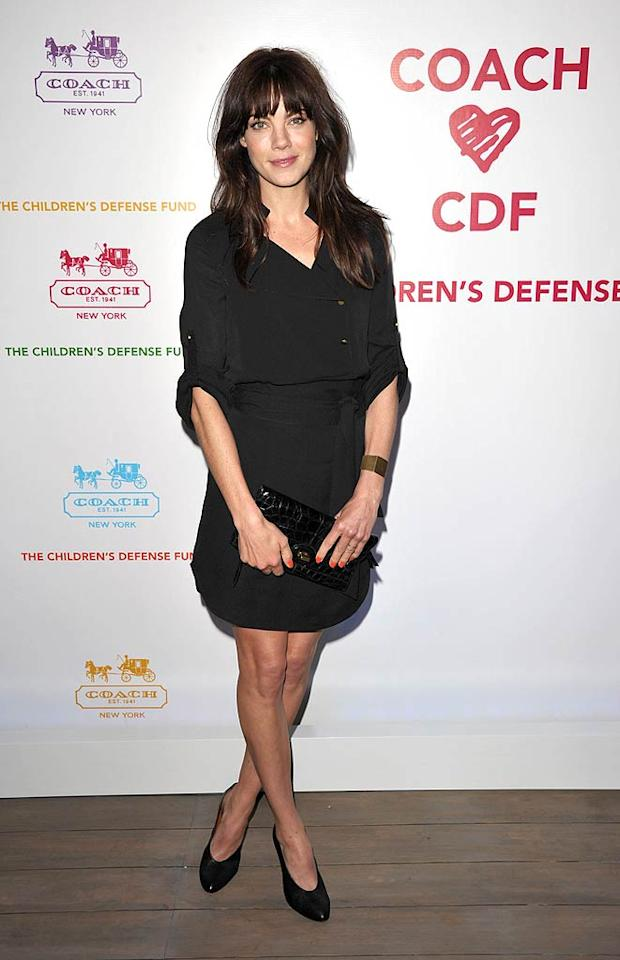 """Source Code's"" Michelle Monaghan was chic in a Tory Burch dress, simple black heels, and a Coach clutch. John Shearer/<a href=""http://www.gettyimages.com/"" target=""new"">GettyImages.com</a> - April 20, 2011"