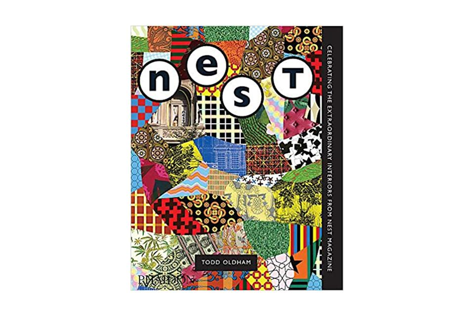 "$76, Amazon. <a href=""https://www.amazon.com/Best-Nest-Celebrating-Extraordinary-Interiors/dp/1838661859?ots=1&slotNum=2&imprToken=78bb2459-d921-17f7-8f6&tag=gqgensqua-20&linkCode=w50"" rel=""nofollow noopener"" target=""_blank"" data-ylk=""slk:Get it now!"" class=""link rapid-noclick-resp"">Get it now!</a>"