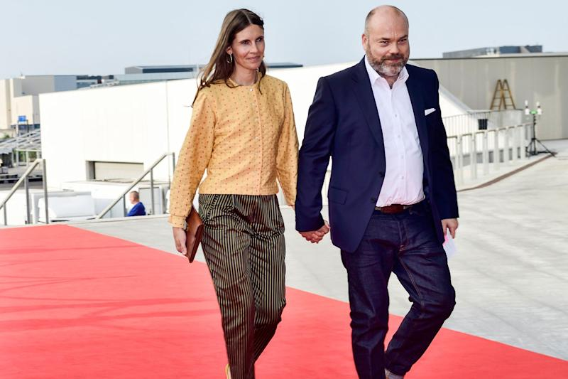 Anders Holch Povlsen and his wife Anne Holch Povlsen (AFP/Getty Images)