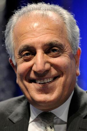 FILE PHOTO: Zalmay Khalilzad, former U.S. ambassador to Afghanistan, Iraq and the United Nations and now the chief U.S. negotiator with the Taliban