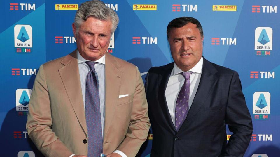Pradè e Barone | Emilio Andreoli/Getty Images