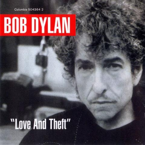 Bob Dylan Love and Theft Album Cover