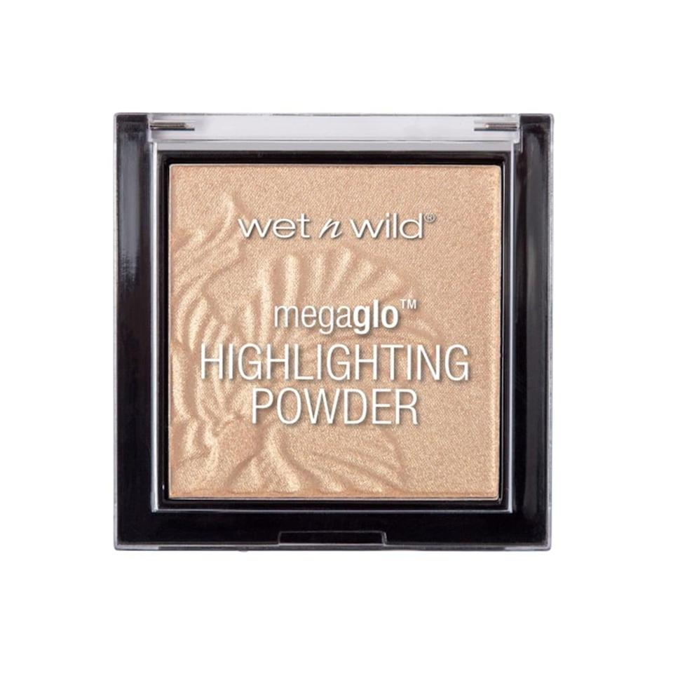 <p>Wet n Wild knows a thing or two about creating game-changing yet affordable makeup, and the <span>Megaglow Highlighting Powder</span> ($5) is no different. The smooth powder blends seamlessly and is packed with saturated color.</p>
