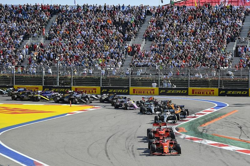 Russian Grand Prix open to hosting F1 double-header