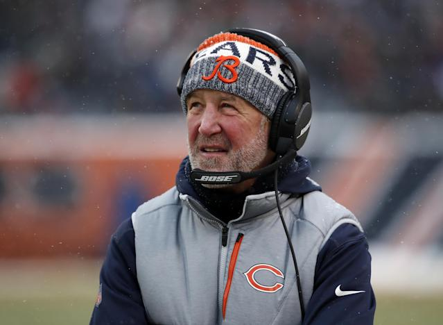 "Former <a class=""link rapid-noclick-resp"" href=""/nfl/teams/chi/"" data-ylk=""slk:Chicago Bears"">Chicago Bears</a> head coach John Fox will join ESPN as a NFL studio analyst this fall. (Jeff Haynes/AP Images)"
