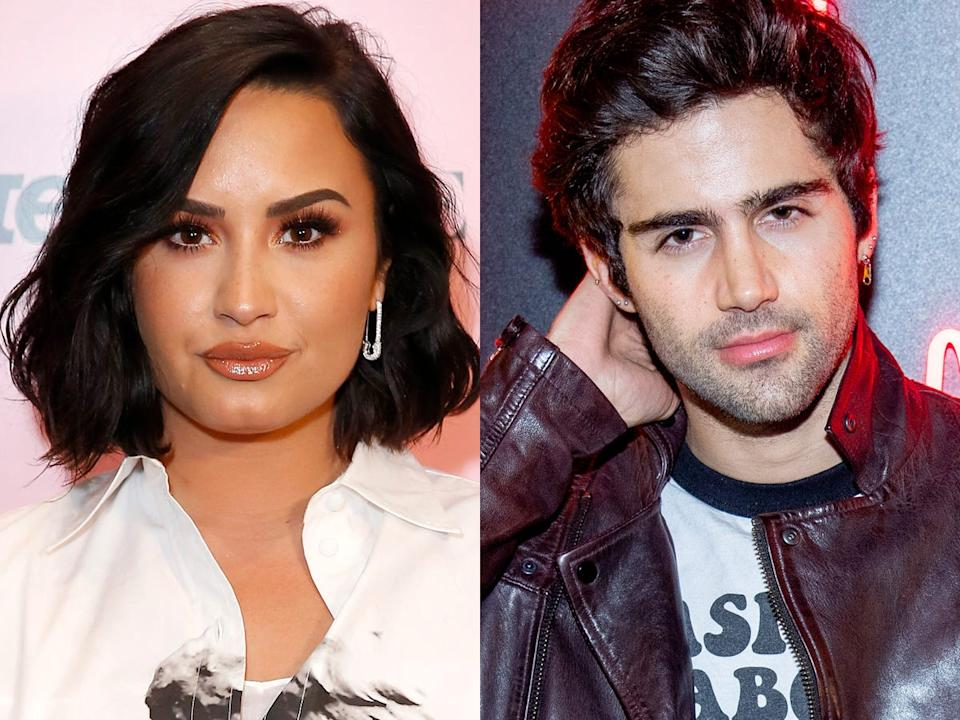 Demi Lovato and Max Ehrich reportedly met in 2020.