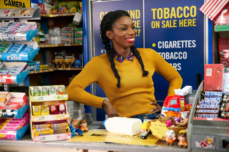 """<p>Tracey (Michaela Coel) has lived a sheltered life, there's no doubt about that. Her mother is overprotective and deeply religious, the man she's supposed to marry seems vaguely repulsed by her, and she's definitely never had sex. However, as heroines go, Tracey is outrageously funny and determined to start living her life on her own terms, even if that means making out with a poet who hangs out in dumpsters. </p> <p>Watch <a href=""""https://www.netflix.com/title/80130911"""" class=""""link rapid-noclick-resp"""" rel=""""nofollow noopener"""" target=""""_blank"""" data-ylk=""""slk:Chewing Gum""""><strong>Chewing Gum</strong></a> on Netflix now.</p>"""