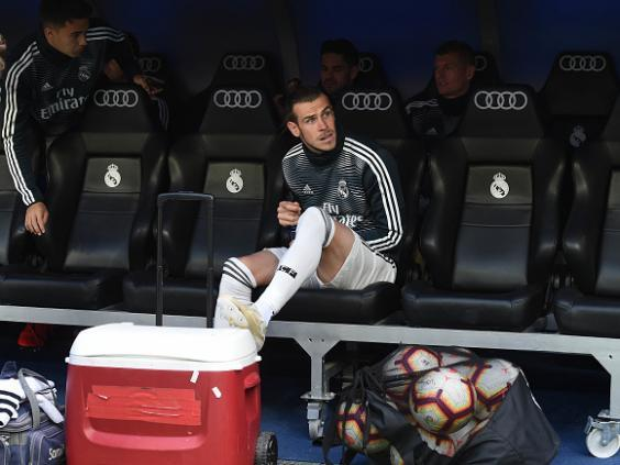 Gareth Bale is on the verge of leaving Real Madrid (Getty)