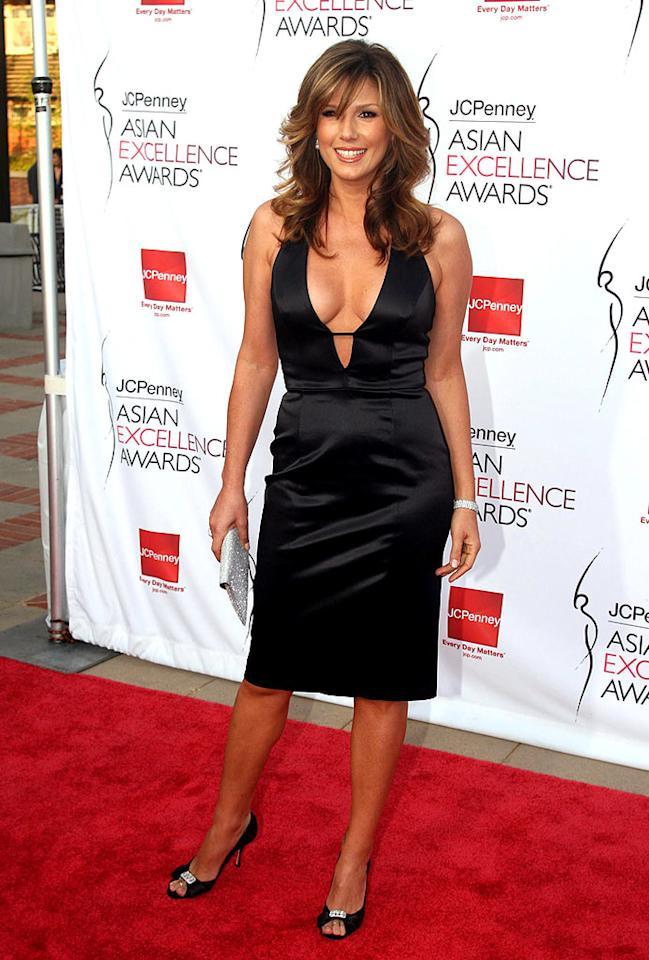 Daisy Fuentes arrives to the 2008 JCPenney Asian Excellence Awards at UCLA's Royce Hall on April 24, 2008 in Westwood, California. The 2008 JCPenney Asian Excellence Awards - Arrivals UCLA's Royce Hall Westwood, CA United States April 23, 2008 Photo by Matthew Simmons/WireImage.com To license this image (51809381), contact WireImage.com
