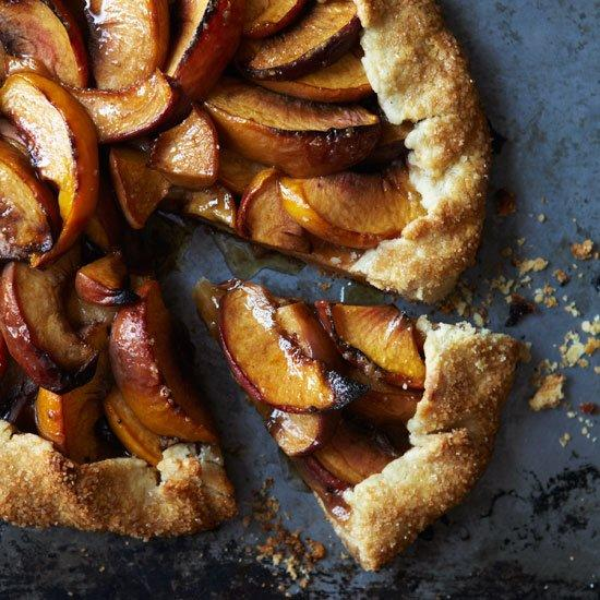 """<p>Free-form tarts (sometimes called crostatas) are an easy, quick-to-prepare way to use up seasonal fruit.</p><p><a href=""""https://www.foodandwine.com/recipes/august-2008-peach-crostata"""">GO TO RECIPE</a></p>"""