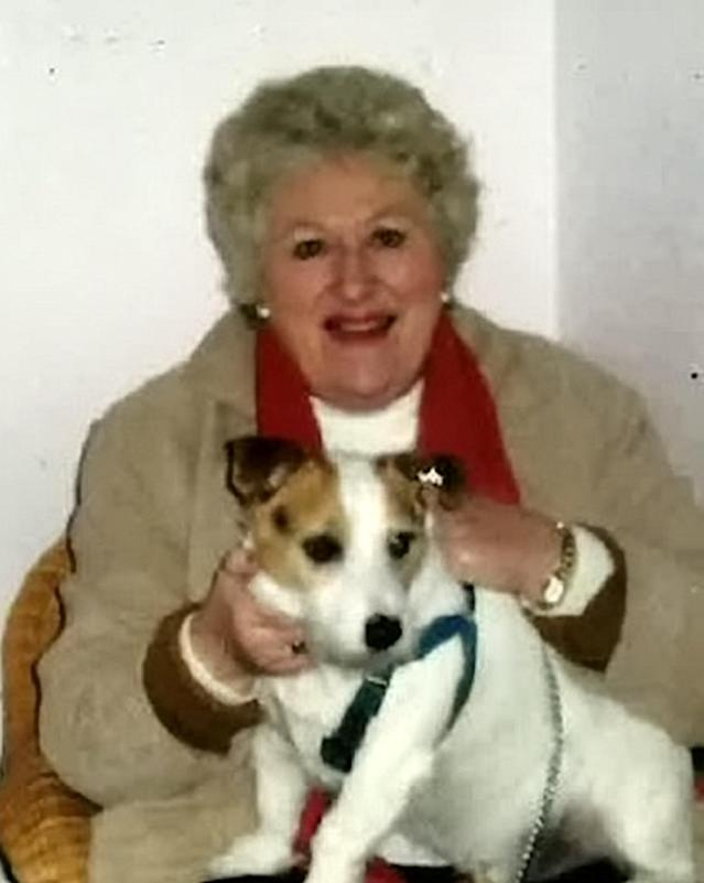 Jean Whitmore had been dead for ten days when her home was robbed (Picture: SWNS)