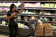 """<p>Wegmans already has a giant selection of pre-cut veggies, and even a section for fresh veggie noodles. But they also go the extra mile for anyone who wants to avoid chopping completely. According to <em><a href=""""http://www.njfamily.com/10-Things-You-Need-to-Know-Before-You-Go-to-the-New-Wegmans-Set-to-Open-in-Montvale-Sunday/"""" rel=""""nofollow noopener"""" target=""""_blank"""" data-ylk=""""slk:New Jersey Family"""" class=""""link rapid-noclick-resp"""">New Jersey Family</a></em>, you can bring any item to their cutting counter and they will slice it and dice it for you. <br></p>"""