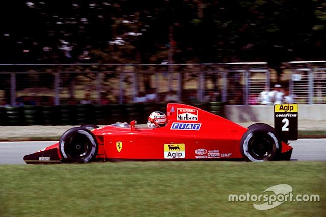 "#2: Nigel Mansell (Ferrari) <span class=""copyright"">Ercole Colombo</span>"