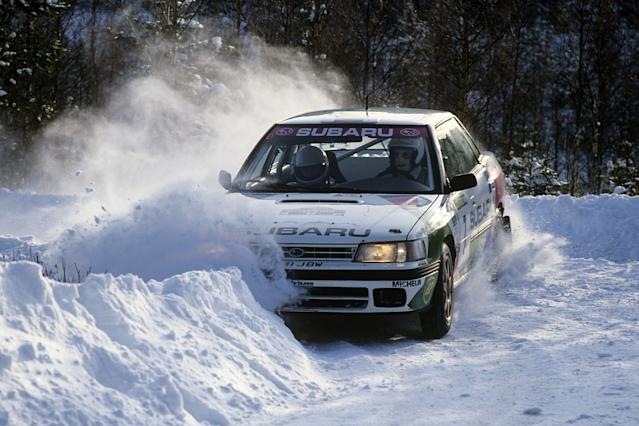 McRae, Burns cars to highlight 60 years of rallying